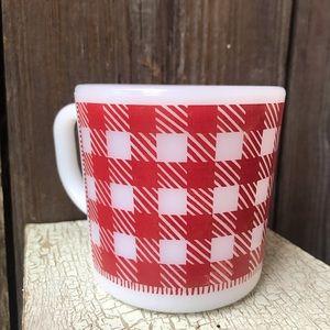 Vintage Westfield Milk Glass coffee mug